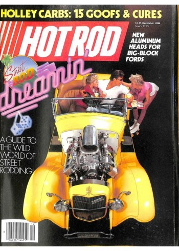 Cover Print of Hot Rod, December 1984