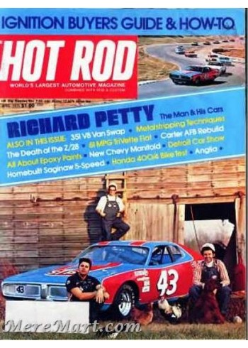 Hot Rod, April 1975