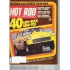 Hot Rod Magazine April 1979