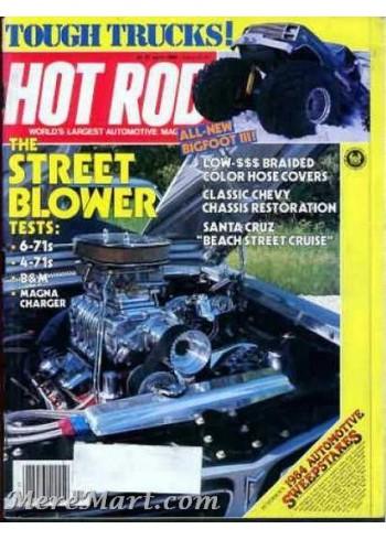 Hot Rod, April 1984