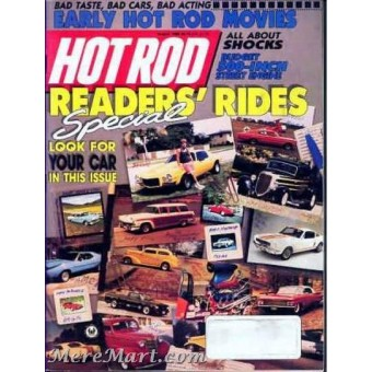 Hot Rod Magazine August 1989