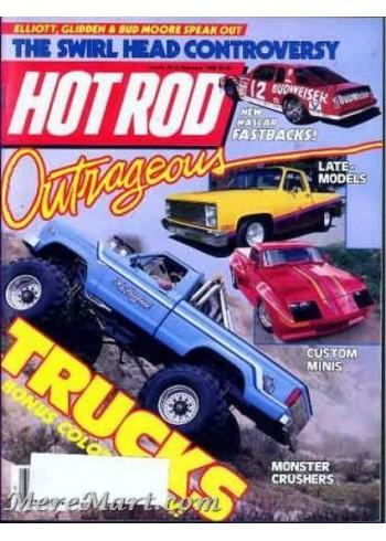 Hot Rod, February 1986