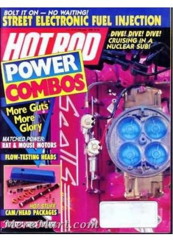 Hot Rod, February 1989