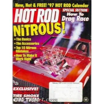 Hot Rod Magazine February 1997