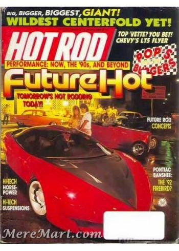 Hot Rod, January 1989