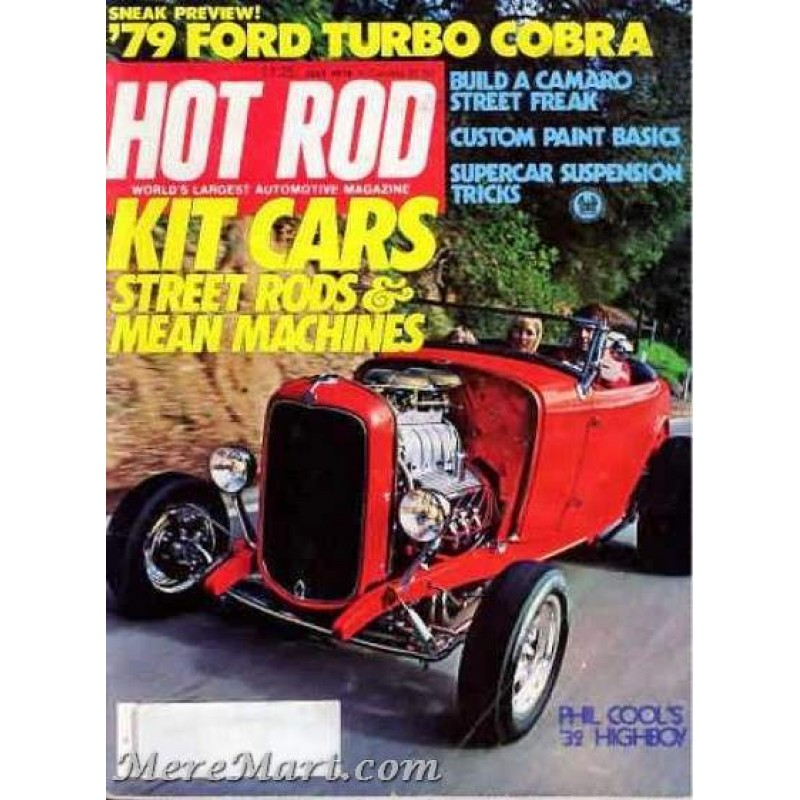 Hot Rod Magazine, July 1978