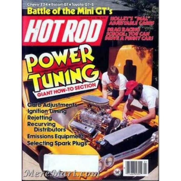 HOT ROD Magazine July 1967 -- VW 1500 Test Stock and Modified -- Twin Pontiac V8