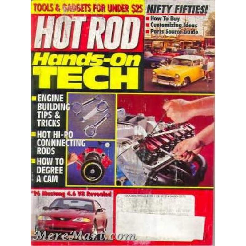 Hot Rod Magazine October 1995