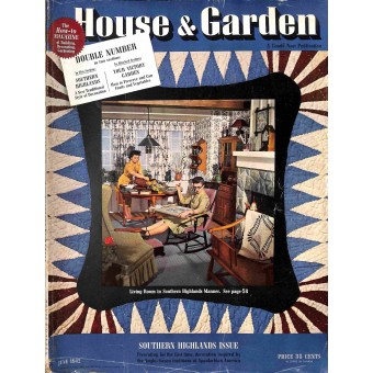 Cover Print of House and Garden, June 1942