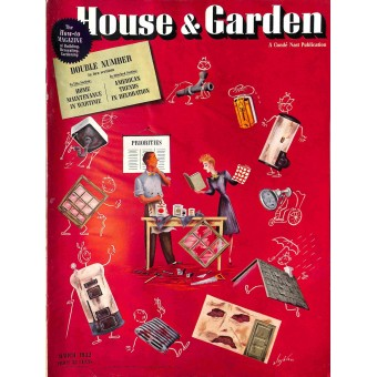 Cover Print of House and Garden, March 1942