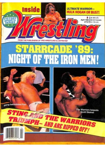 Inside Wrestling, April 1990