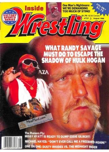 Inside Wrestling, August 1988