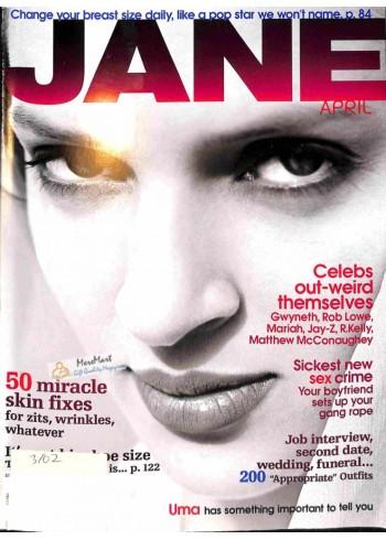 Cover Print of Jane, April 2002
