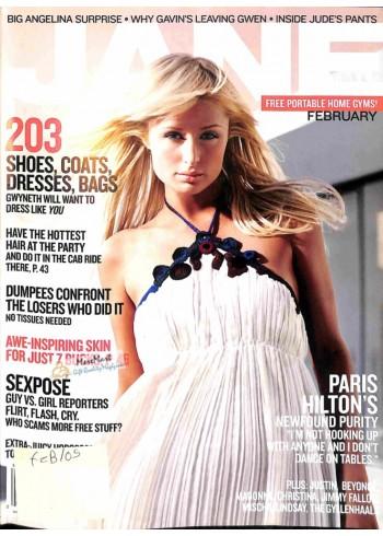 Cover Print of Jane, February 2005