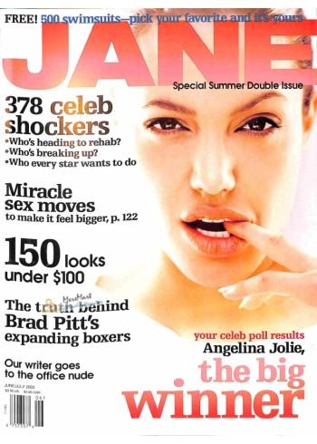 Cover Print of Jane, June 2003