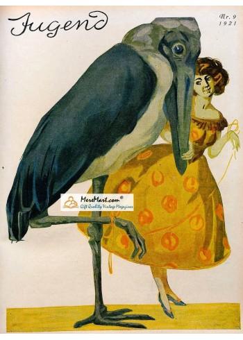 Jugend, 1921. Poster Print.