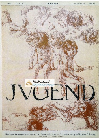 Jugend, April 25, 1896. Poster Print. Karl Marr.