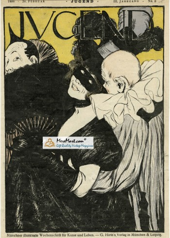 Jugend, February 26, 1898. Poster Print.