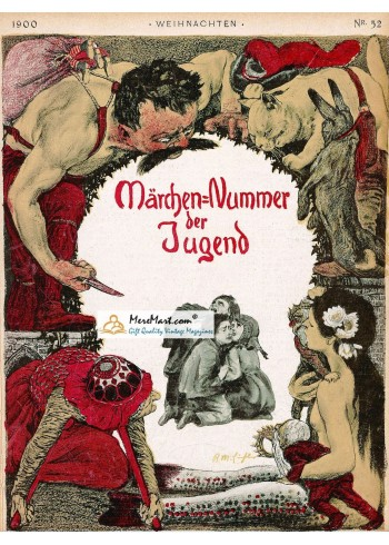 Jugend, March, 1900. Poster Print.