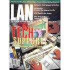 Cover Print of LAN, August 1996