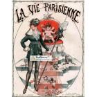 La Vie Parisienne, 1916. Poster Print. Herouard.