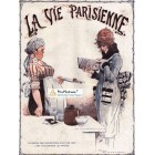 La Vie Parisienne, 1919. Poster Print. Rene Vincent.