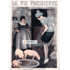 La Vie Parisienne, 1922. Poster Print.