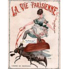 La Vie Parisienne, 1960. Poster Print. Herouard.