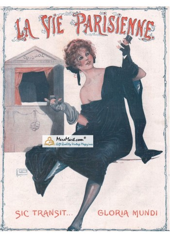 La Vie Parisienne, January 17, 1920. Poster Print.