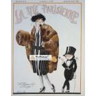 La Vie Parisienne, January 22, 1921. Poster Print. Rene Vincent.