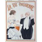 La Vie Parisienne, June 25, 1921. Poster Print. Rene Vincent.