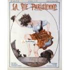 La Vie Parisienne, October 21, 1922. Poster Print.