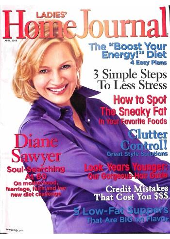 Ladies Home Journal, April 2006