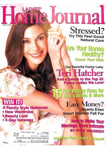 Ladies Home Journal, March 2006