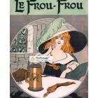 Le Frou Frou, 1820. Poster Print. J.R.