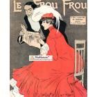 Le Frou Frou, March 31, 1906. Poster Print.