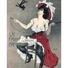 Le Frou Frou, November 21, 1908. Poster Print. Raphael Kirchner.