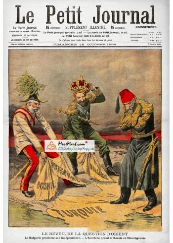 Le Petit Journal, October 18, 1908. Poster Print.