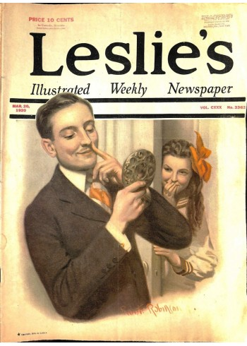 Cover Print of Leslies, March 20 1920