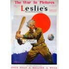 Leslies, April 27, 1918. Poster Print. Clyde Forsythe.