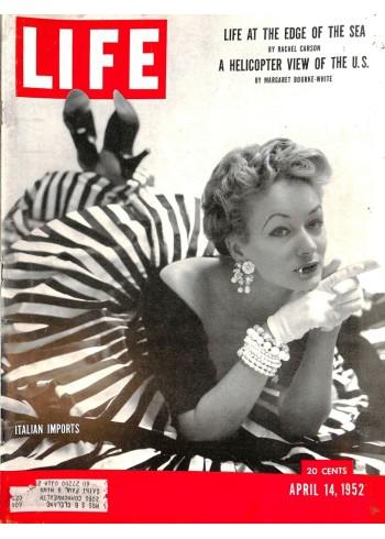 Cover Print of Life, April 14 1952