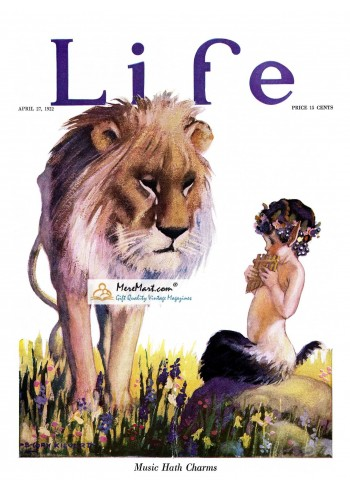 Life, April 27, 1922. Poster Print. Cody Kilvert.