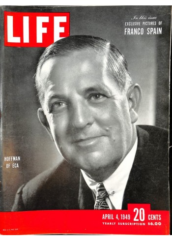 Cover Print of Life, April 4 1949