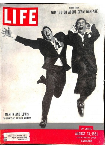 Cover Print of Life, August 13 1951
