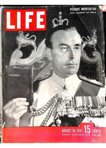 Cover Print of Life, August 18 1947