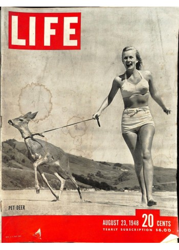 Cover Print of Life, August 23 1948