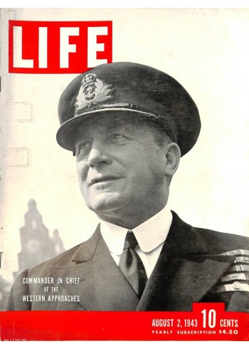 Cover Print of Life, August 2 1943