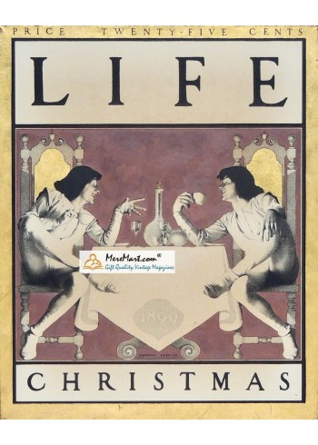 Life, December, 1899. Poster Print. Maxwell Parrish.