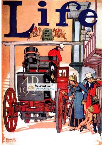 Life, December, 1922. Poster Print. Edward Penfield.