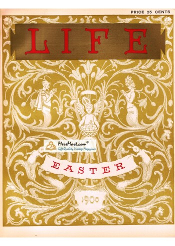 Life, Easter, 1900. Poster Print.